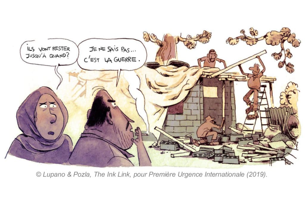 EXPOSITION BD « ON VA S'ARRANGER : REFUGE AU PAYS DU CÈDRE »