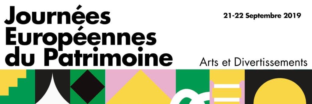Affiche-Bandeau Journées Européennes du Patrimoine 2019