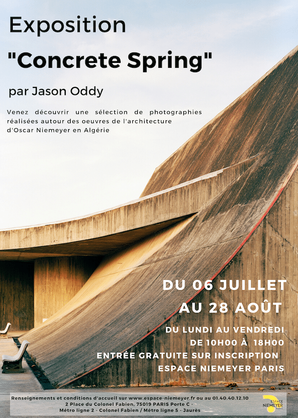 JASON ODDY EXHIBITION « CONCRETE SPRING »