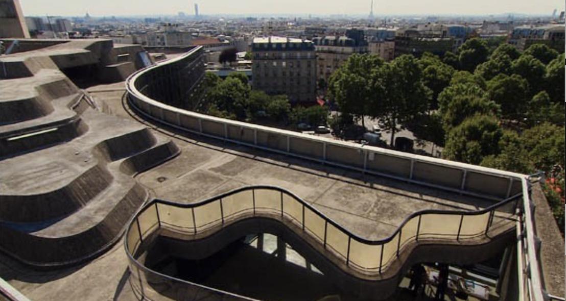 Espace Niemeyer - Les toits