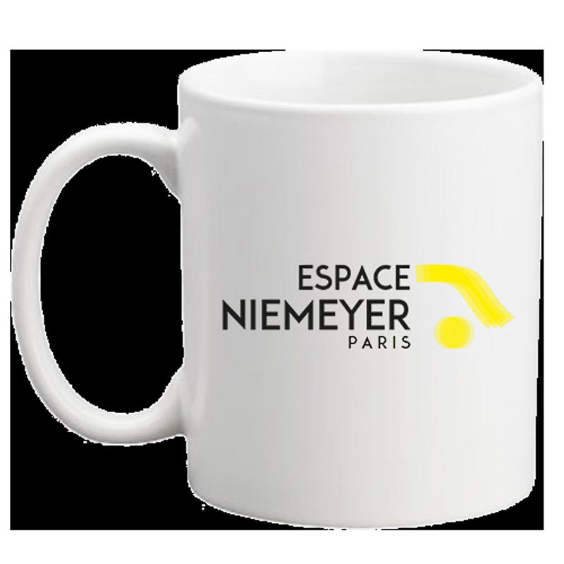 "Mug ""Espace Niemeyer - Paris"""